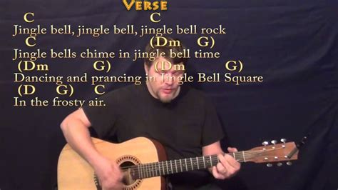 jingle bell rock guitar cover jingle bell rock strum guitar cover lesson in c with