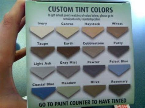 rustoleum countertop paint color choices by marcy headley butler home