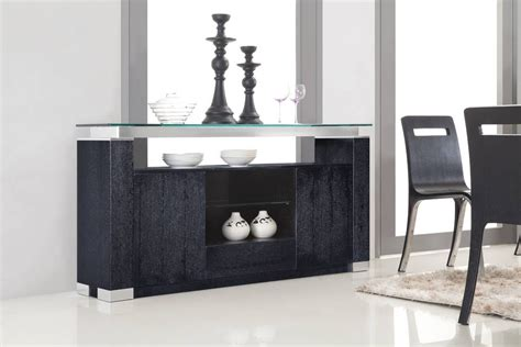 15 Best Of Black Sideboards With Glass Doors