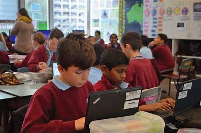 Students Class Ict Primary Office Google Using