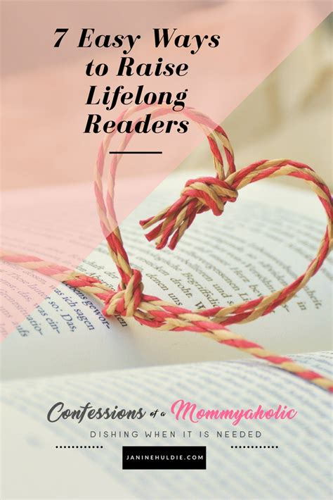7 Easy Ways To Raise Lifelong Readers  Confessions Of A