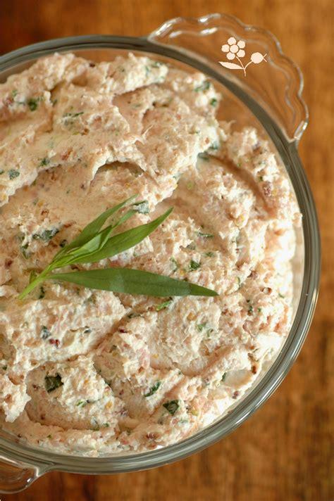 cuisiner chignons de frais rillettes de jambon blanc fromage frais et estragon p