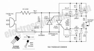 ac motor speed picture speed control of ac motor using scr With dc motor speed controller project