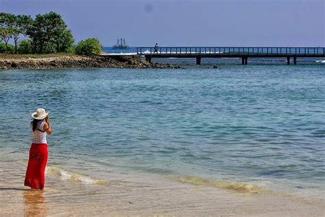 pantai tanjung lesung bilad   travel banten