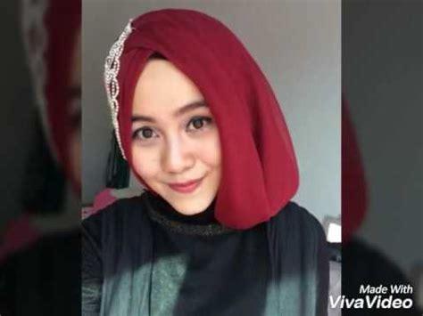 tutorial hijab pesta simple hijab paris segi empat youtube