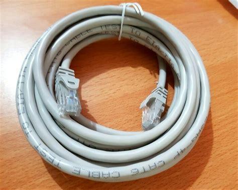lan kabel 3m jual kabel lan 3m cat 6 kabel utp 5 meter pabrikan cat 6 di lapak arisman store mandiri cellcom