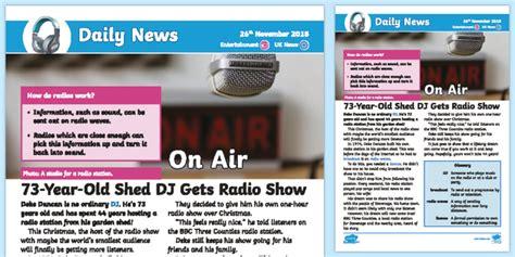 * New * Lks2 Shed Dj Daily News Story  Music, Radio, 20th