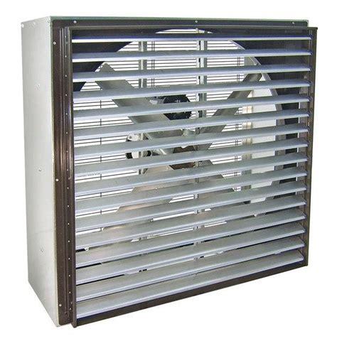 48 inch exhaust fan vik cabinet exhaust fan w shutters 48 inch 21500 cfm belt