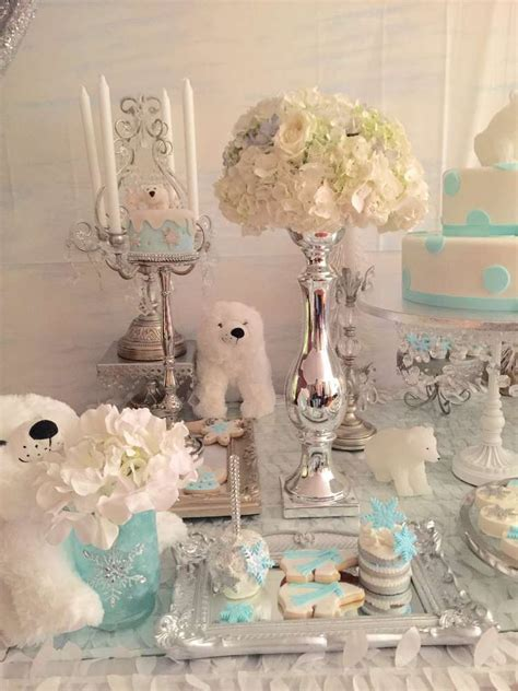 Baby Shower Theme For by Polar Baby Shower Treats See More Ideas
