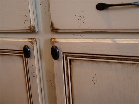 Refinishing Oak Cabinets Antique White Roselawnlutheran