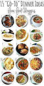 Food To Go : need dinnertime inspiration 15 39 go to 39 meals from food bloggers sweetphi ~ A.2002-acura-tl-radio.info Haus und Dekorationen