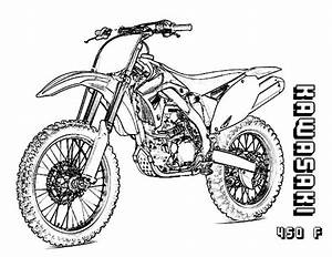 honda dirt bike coloring pages kids page sketch coloring With honda 50cc pit bike