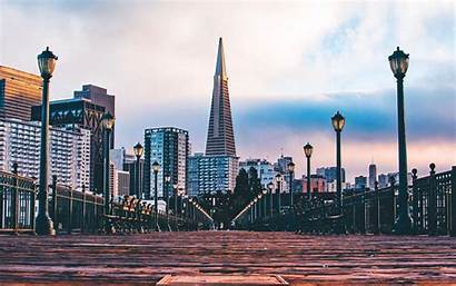 Francisco San Pier Desktop Wallpapers Background Buildings