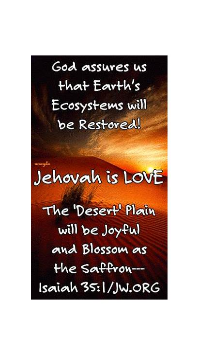 Jehovah Future Restored Paradise Bible Giphy Gifs