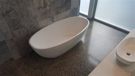 Polished Concrete Bathroom Floors   Bathroom Inspiration!