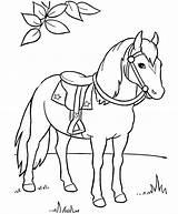 Horse Coloring Draft Pages Mustang Printable Getcolorings Colorings sketch template