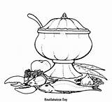 Stove Coloring Pages Cook sketch template