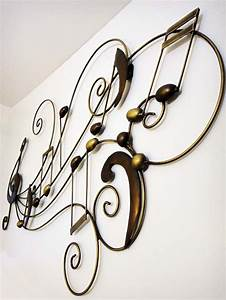 Brilliant wall art contemporary hanging metal decor