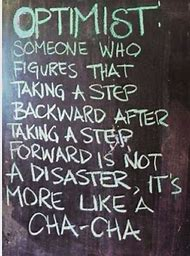 Optimist ChaCha Quote