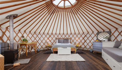 2 farmhouse plans luxury yurting in somerset for adults the yurt