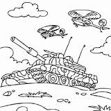 Tank Coloring Pages Army Military Printable Carrier Aircraft War Drawing Colouring Helicopters Getcolorings Airplane Homeland Defense Getdrawings Activity sketch template