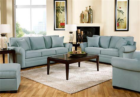 Cindy Crawford Home Bellingham Hydra 7 Pc Living Room