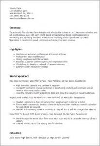 hair stylist resume summary professional hair salon receptionist templates to showcase your talent myperfectresume