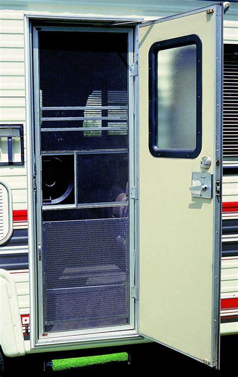 rv screen door rv screen door grille aluminum screen guard protector