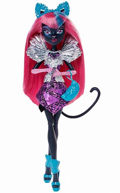 Noir Catty Characters Play Monster Doll Clawdeen