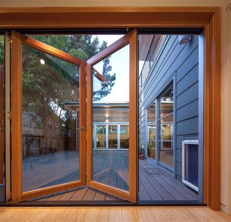 beautiful bifold doors  functional  efficient