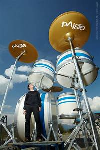"""The world's largest drumset """"THE BIG BOOM"""". The gigantic ..."""