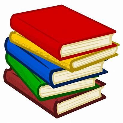 Coloured Clipart Books Buecher Office