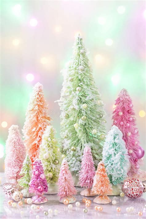 pastel christmas stock photo image