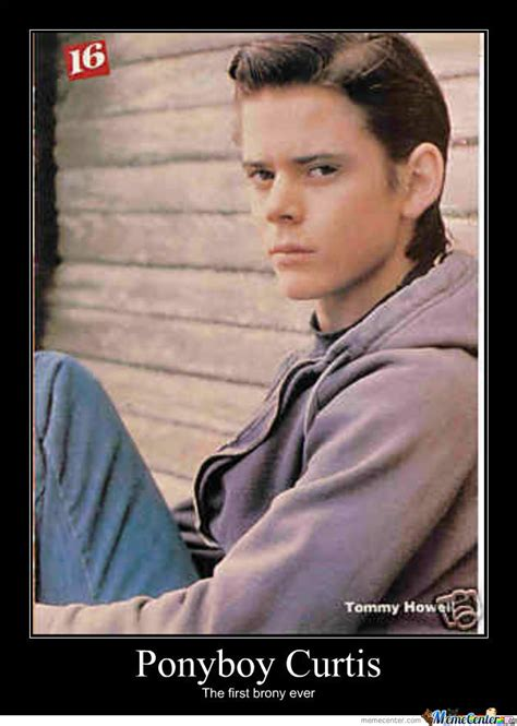 The Outsiders Memes - ponyboy curtis by pikaruto4752 meme center