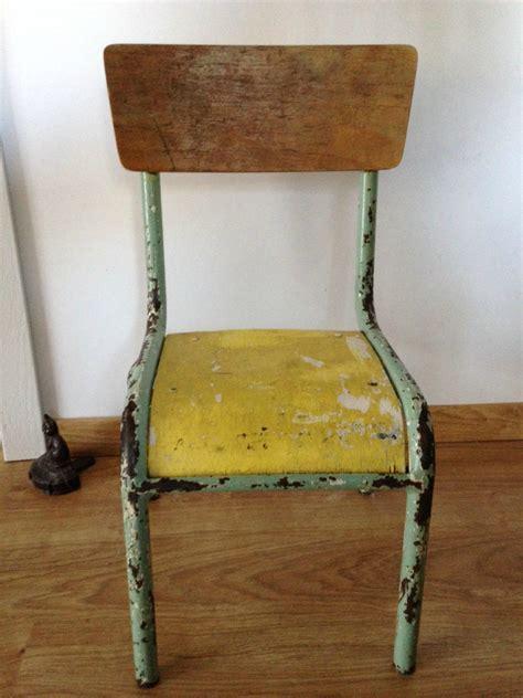le de bureau ancienne rénovation d 39 une chaise d 39 écolier mullca 510 le