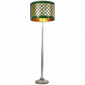 possini euro design deco style walnut column floor lamp With lanie 1 light floor lamp