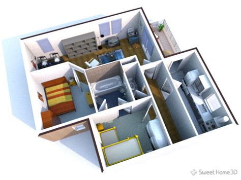 Sweet Home 3d by Sweet Home 3d Dessinez Vos Plans D Am 233 Nagement Librement