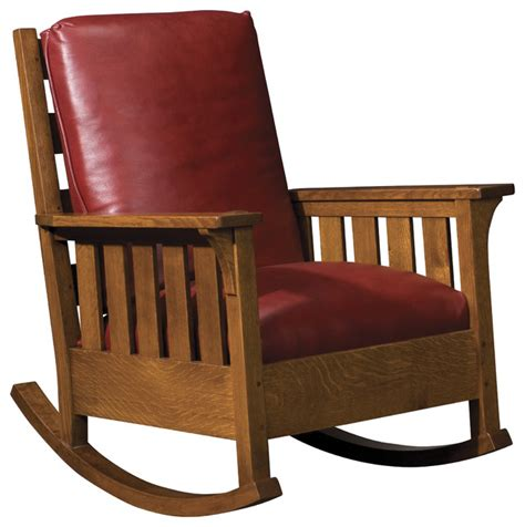 stickley rocking chair plans  woodworking