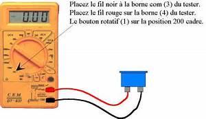 Comment Tester Une Batterie De Voiture Sans Multimetre : le multimetre un accessoire bien utile ~ Gottalentnigeria.com Avis de Voitures