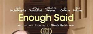 Enough Said DVD Review: Julia Louis-Dreyfus & James ...
