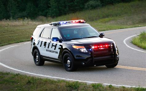 Ford Explorer Interceptor Suv Popular Police Cruiser