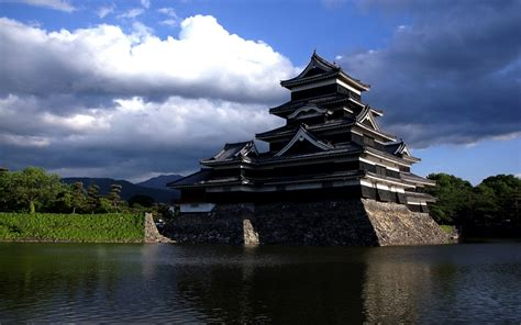 Landscape Japan Castle Wallpapers Hd Desktop And