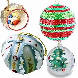 Boule De Noel A Fabriquer : boules de no l fabriquer par les enfants ~ Nature-et-papiers.com Idées de Décoration