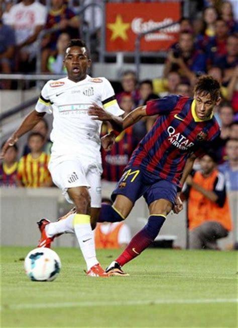 Barcelona vs Santos 8-0 Highlights 2013 Joan Gamper Trophy Sanchez Messi Pedro Adriano Dongou Fabregas Goals Video| Soccer Blog|Football News, Reviews...