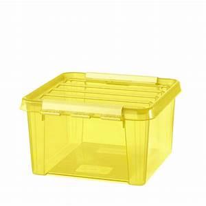 Boite Plastique Petite Taille : bo te plastique carr e jaune 28x28 ~ Edinachiropracticcenter.com Idées de Décoration