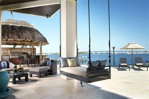 canapé suspendu canapé et lit suspendu pour décoration de terrasse et