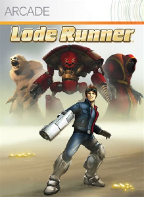 xbox lode runner 360 game optimus op