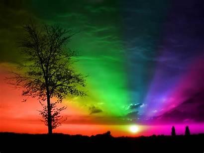 Rainbow Wallpapers Desktop Background Backgrounds Rainbows Sky