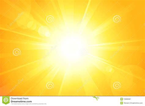 Sol Brilhante Com Alargamento Da Lente Ilustração do Vetor ...