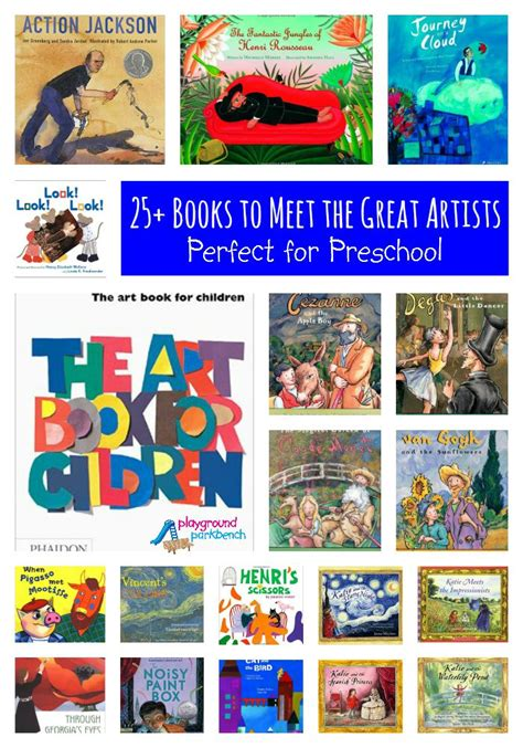 art history  preschoolers  books  study great